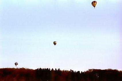 Ballons über Hartkopsbever