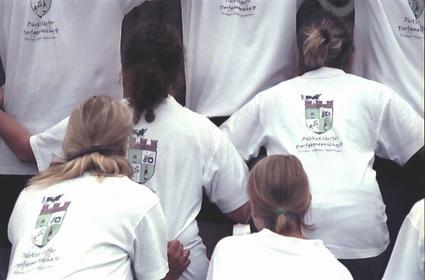 TeilnehmerInnen aus Hückeswagener Dorfgemeinschaft