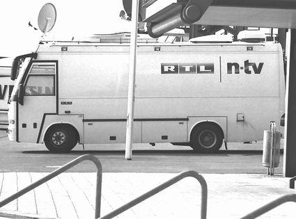 Übertragungswagen von RTL
