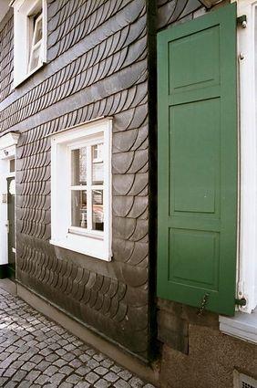 Bergisches Haus in der historischen Marktstraße Hückeswagen