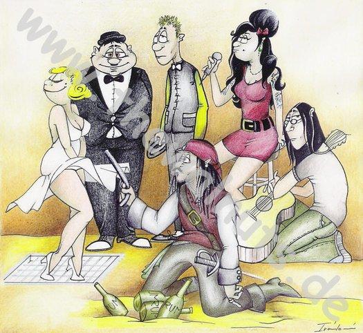(c) Karikatur Ingrida Ivankova