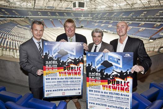 Public-Viewing WM-2010 VELTINS-Arena